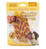 WonderSnaxx Bacon & Cheese Twists Small/Medium 6ct