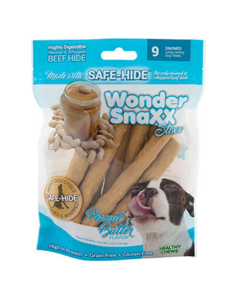 WonderSnaxx Peanut Butter Stixx Small/Medium 9ct