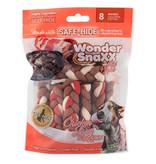 WonderSnaxx Chicken Liver & Bacon Braid Small/Medium 8ct