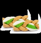 WonderSnaxx Peanut Butter & Apple Braid Small/Medium 8ct