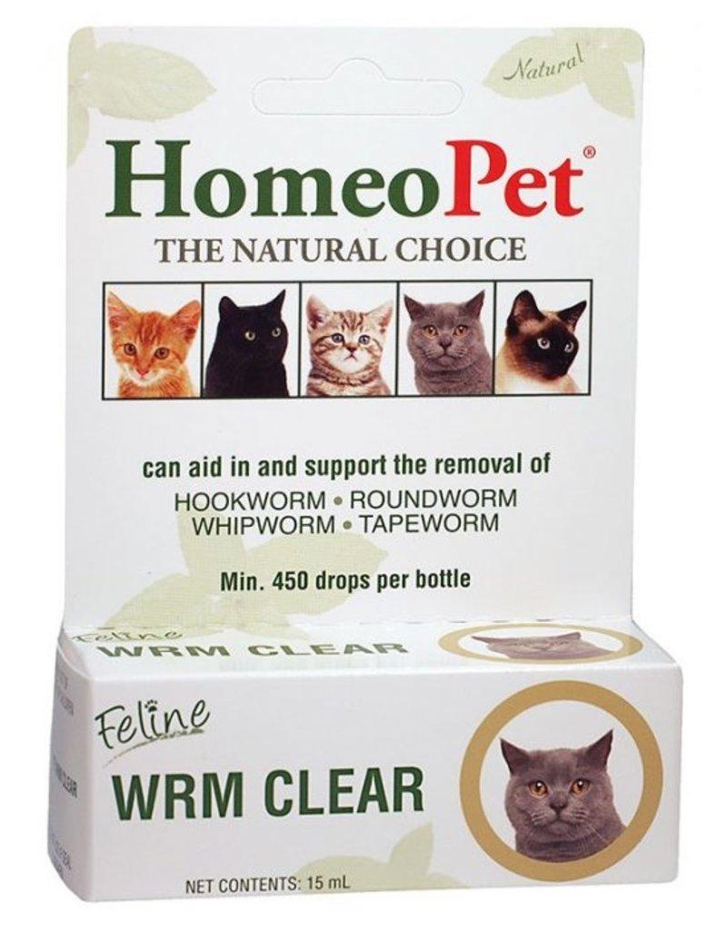 HomeoPet Feline Worm Clear 15ml