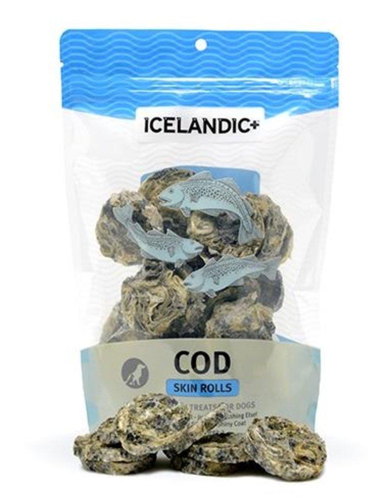 Icelandic+ Cod Skin Rolls 3oz