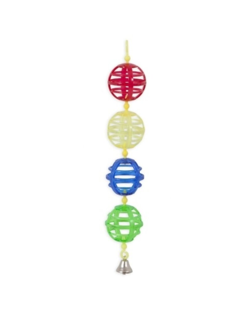 JW ActiviToy Lattice Balls Bird Toy