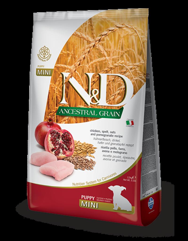 Farmina Ancestral Grain Chicken & Pomegranate Puppy Mini 5.5lb