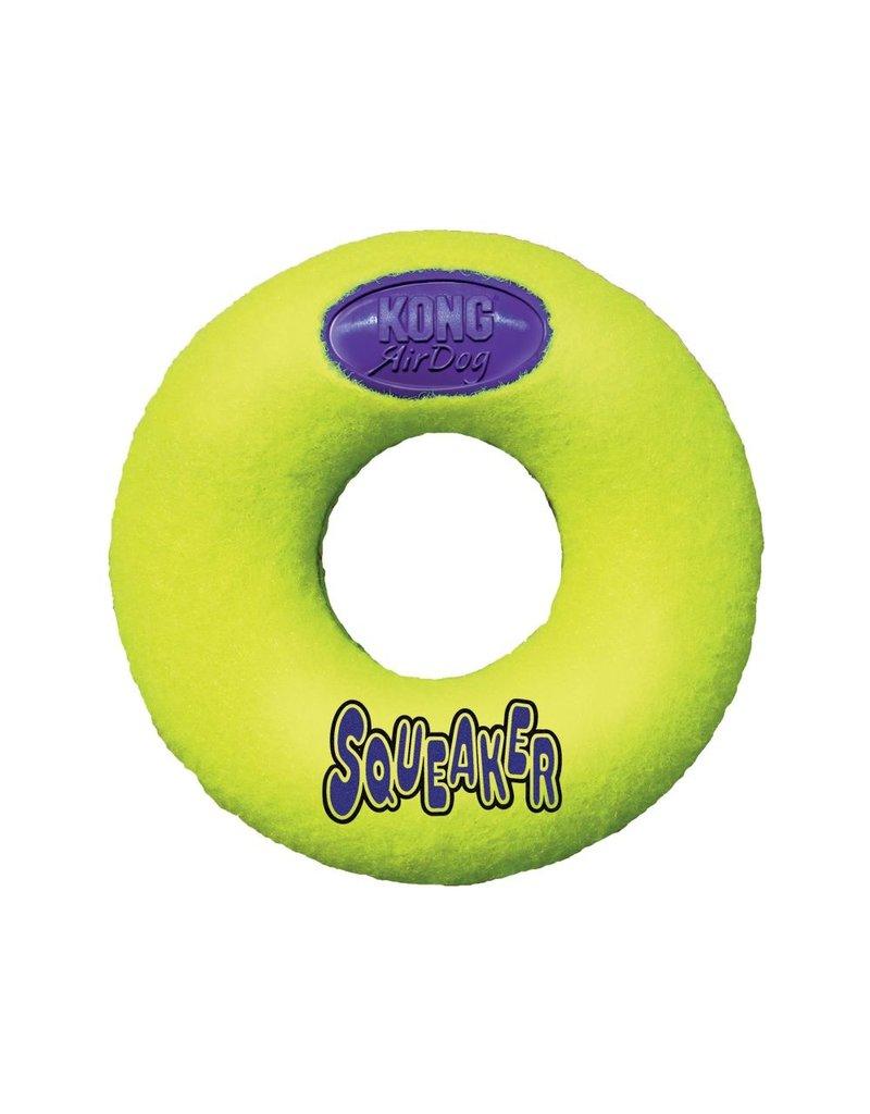 Kong Airdog Squeaker Donut Medium