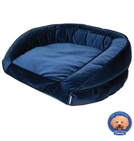 La-Z-Boy Blue Velvet Tucker Sofa Bed