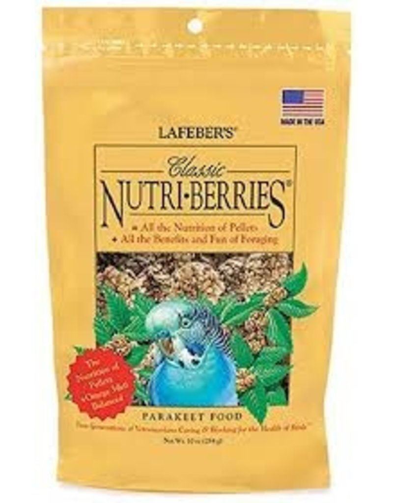 Lafeber's Classic Nutri-Berries Parakeet 10oz