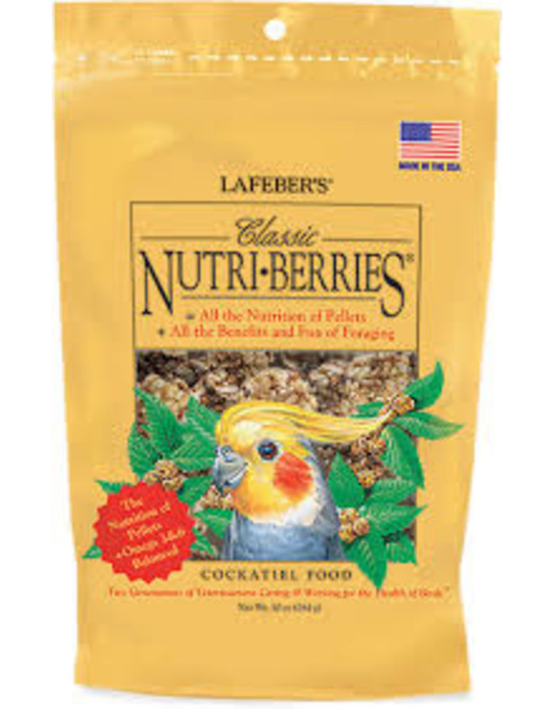 Lafeber's Classic Nutri-Berries Cockatiel 10oz