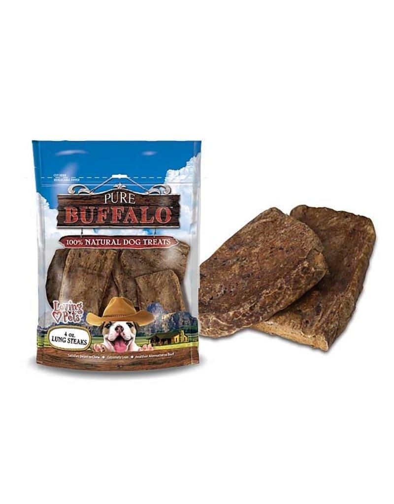 Loving Pets Buffalo Lung Steak 4oz