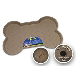 Loving Pets Bella Spill Proof Mat Tan Small