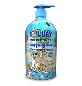 Lucy's Pet Products Surfin' Jack Coconut Shampoo 17oz