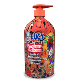 Lucy's Pet Products Berry Berry Smellicious Tropical Shampoo 17oz