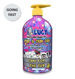 Lucy's Pet Products PupaDubDub Gentle Puppy Shampoo 17oz