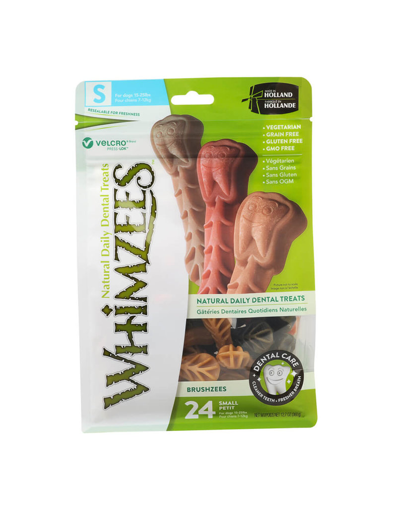 Whimzee Small Brushzees 24ct