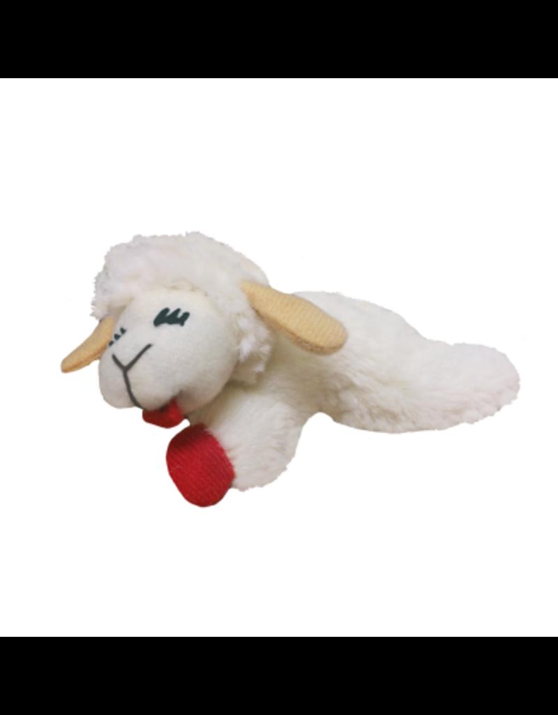 Multipet Lamb Chop Cat Toy 4in