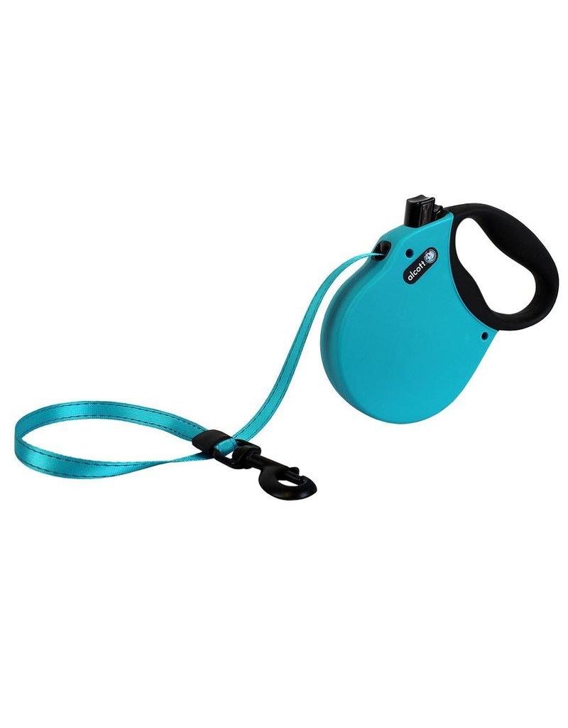 Alcott Adventure Retractable Leash Blue Large