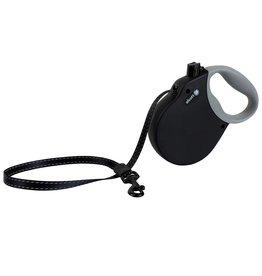 Alcott Adventure Retractable Leash Black Large
