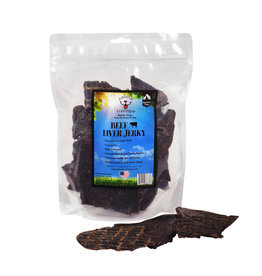 Natural Cravings Beef Liver Jerky 16oz