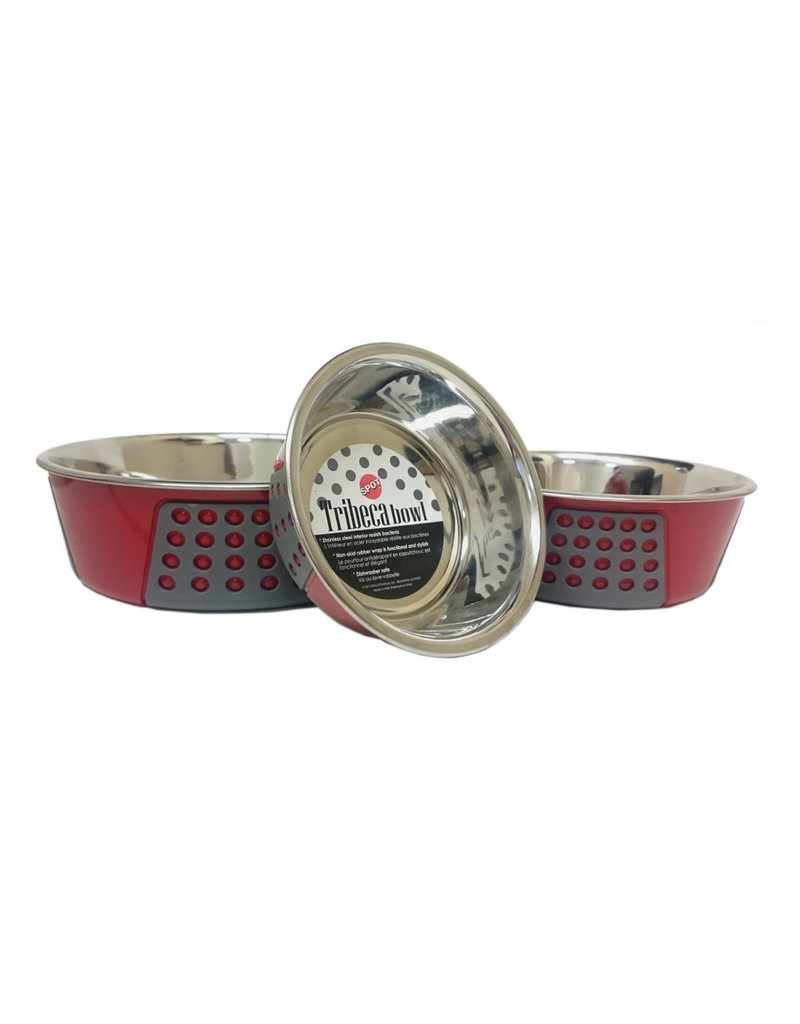 Ethical Pet Tribeca Bowl Red 55oz