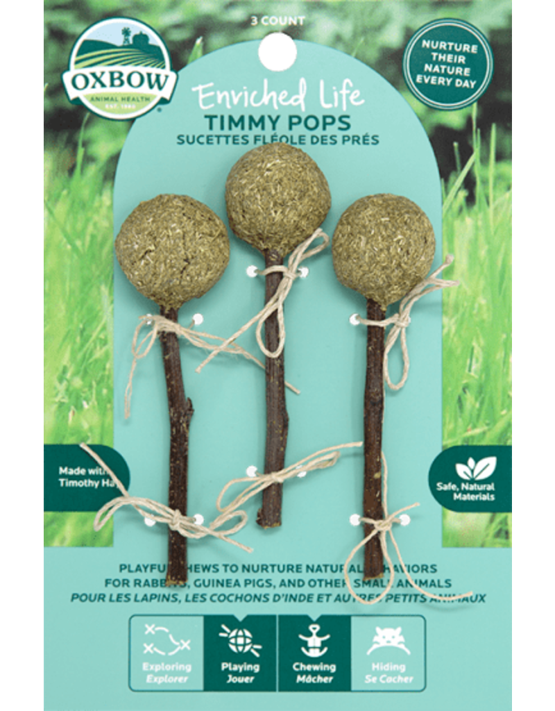 Oxbow Enriched Life Timmy Pops