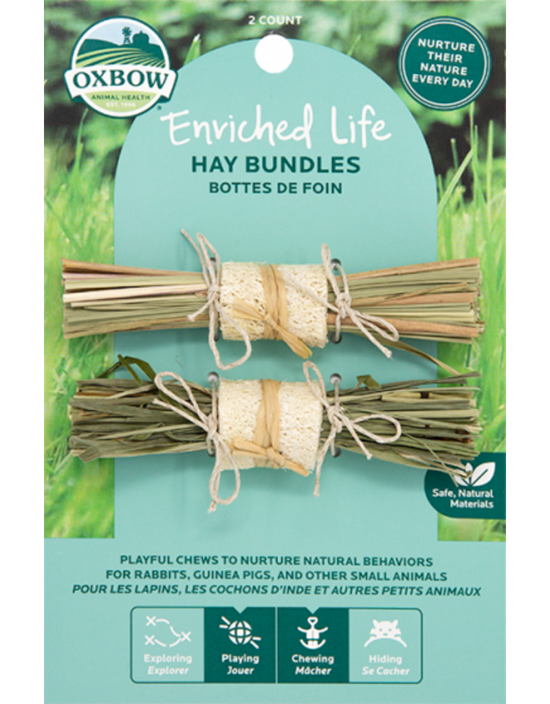 Oxbow Enriched Life Hay Bundles