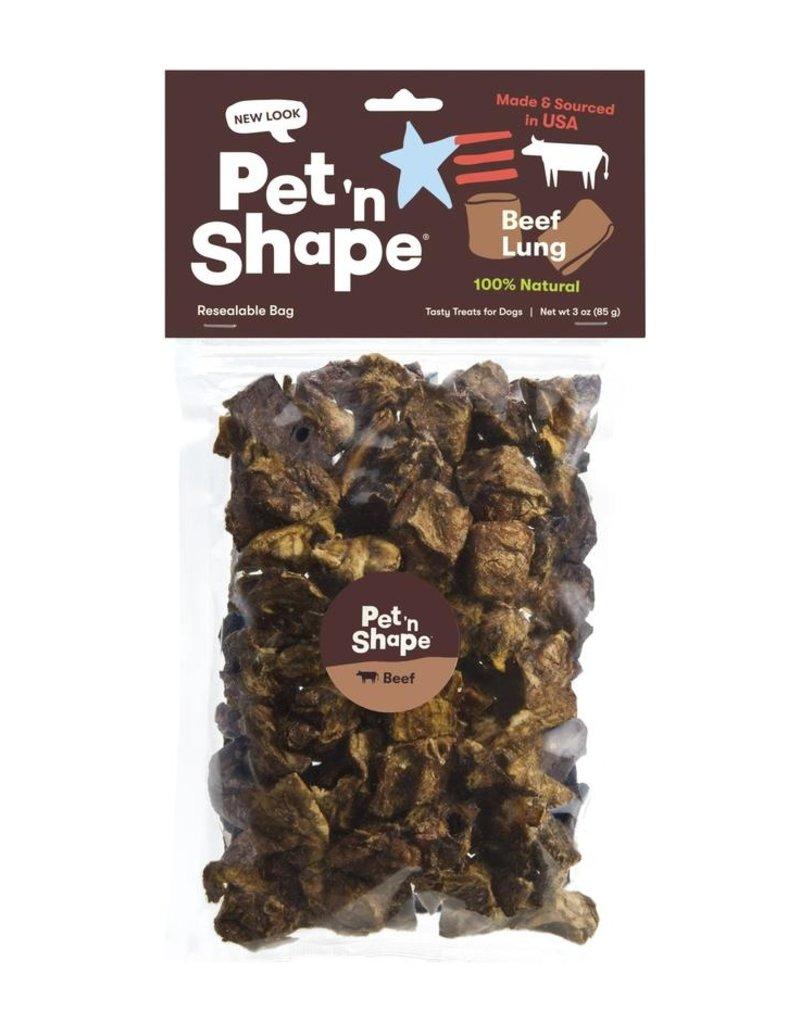 Pet 'n Shape Beef Lung 3oz