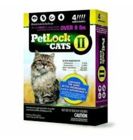 PetLock Flea & Tick for Cats Large 4pk