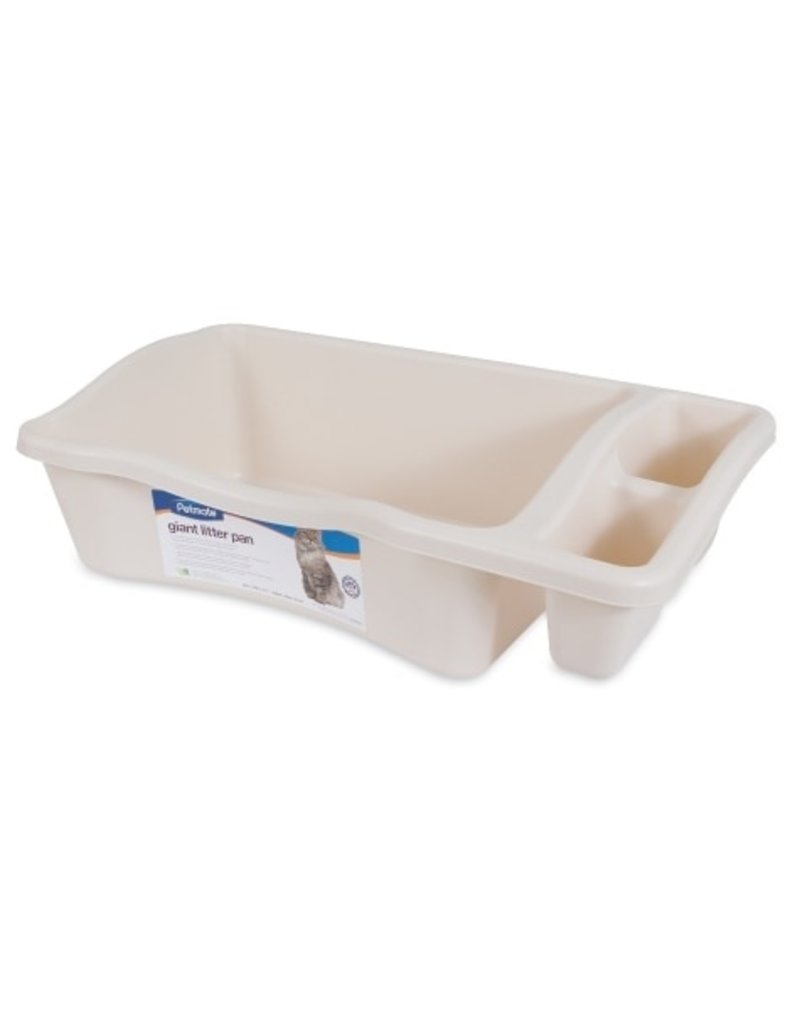 Petmate Litter Pan with Microban Bleached Linen Giant
