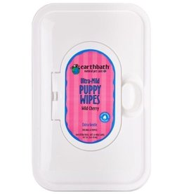 Earthbath Puppy Wipes Wild Cherry 100ct