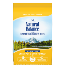 Natural Balance Cat Green Pea & Duck LID 2lb