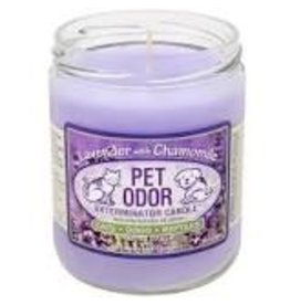 Specialty Pet Products Odor Exterminator Candle Lavender with Chamomile