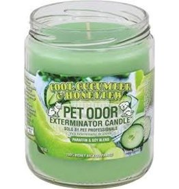 Specialty Pet Products Odor Exterminator Candle Cucumber & Honeydew