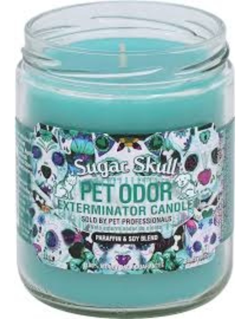 Specialty Pet Products Odor Exterminator Candle Sugar Skull