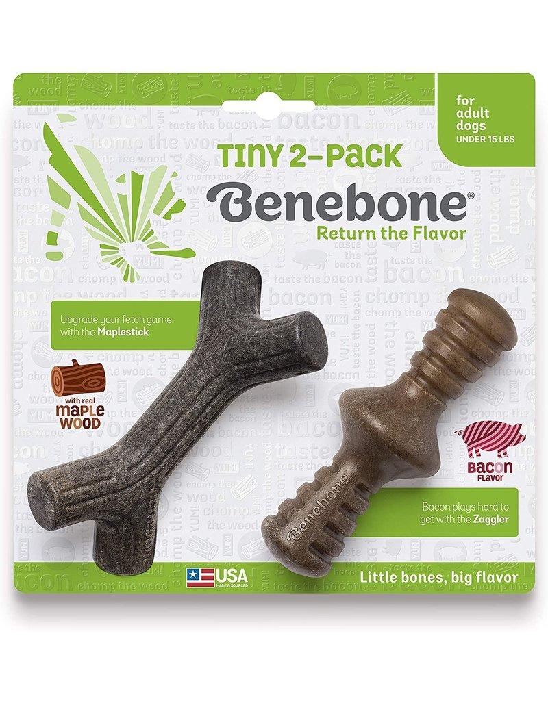 Benebone Zaggler & Maplestick Tiny 2-Pack
