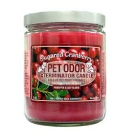 Specialty Pet Products Odor Exterminator Candle Sugared Cranberry