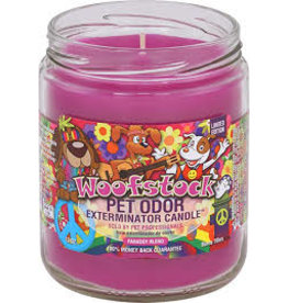 Specialty Pet Products Odor Exterminator Candle Woofstock