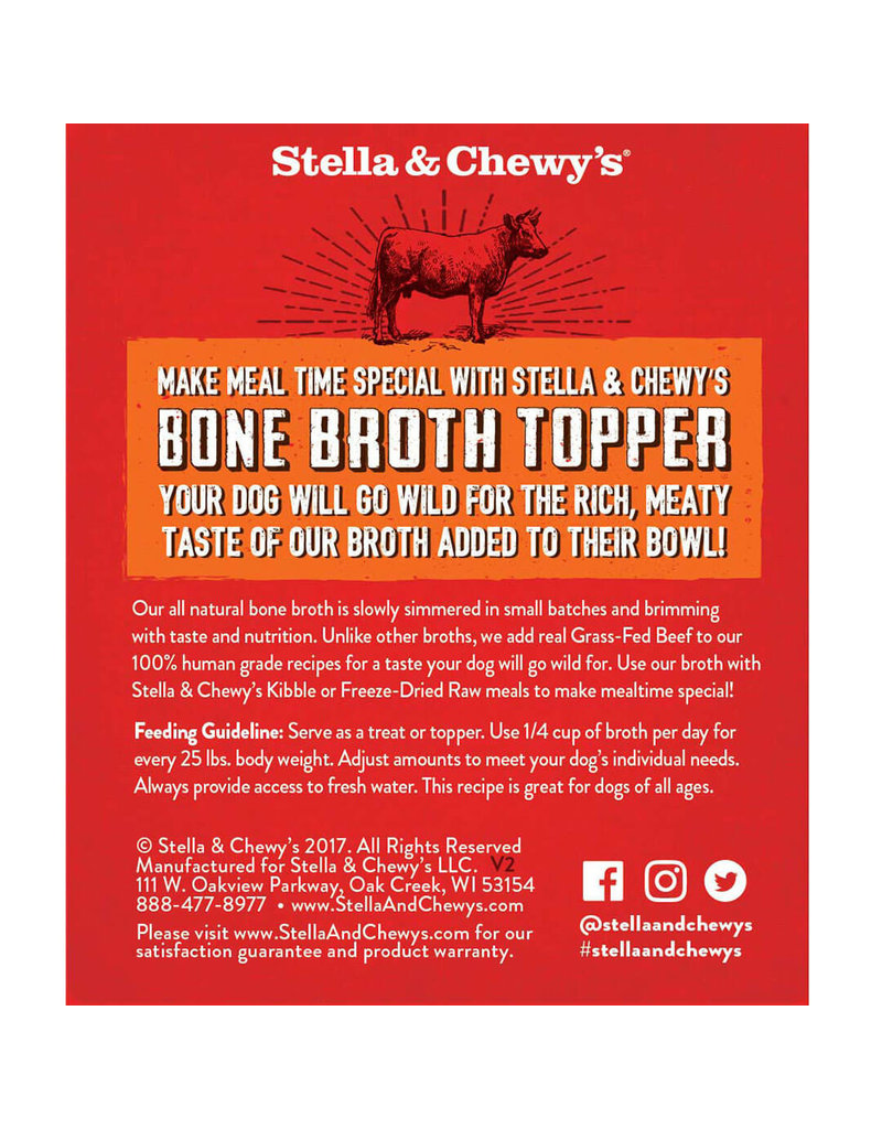 Stella & Chewy's Grass-Fed Beef Broth 11oz