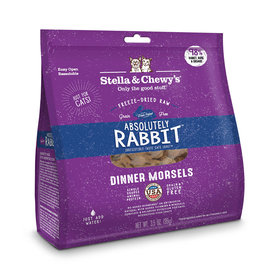 Stella & Chewy's Absolutely Rabbit Freeze-Dried Raw Dinner Morsels 18oz