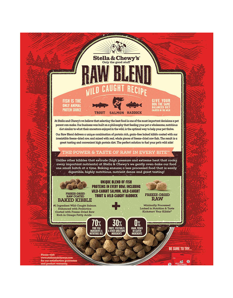 Stella & Chewy's Raw Blend Wild Caught Recipe 3.5lb