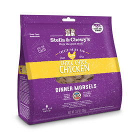 Stella and Chewy's Chick Chick Chicken Freeze-Dried Raw Dinner Morsels 9oz
