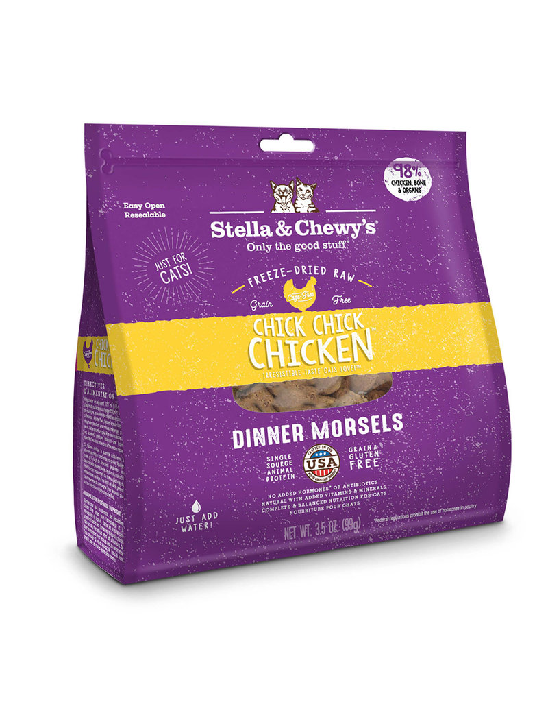 Stella & Chewy's Chick Chick Chicken Freeze-Dried Raw Dinner Morsels 9oz