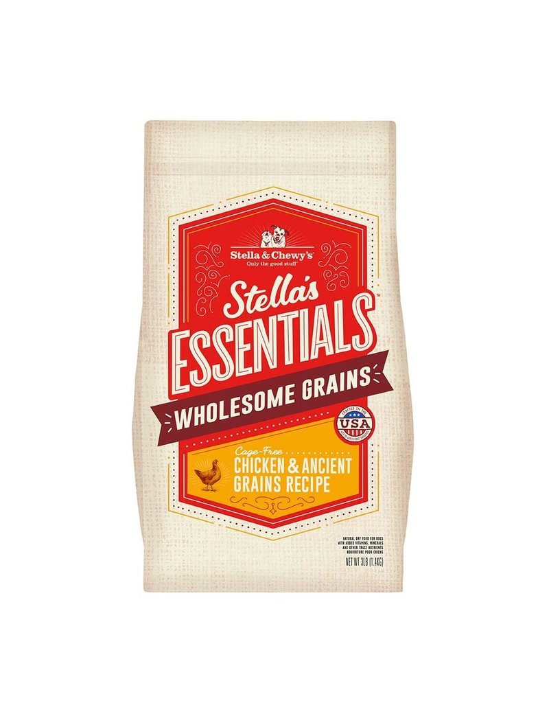 Stella & Chewy's Essentials Cage-Free Chicken & Ancient Grains 25lb