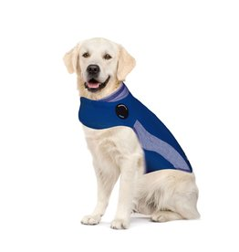 ThunderShirt Calming Dog Wrap Blue Polo XL