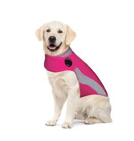 ThunderShirt Calming Dog Wrap Pink Polo XL