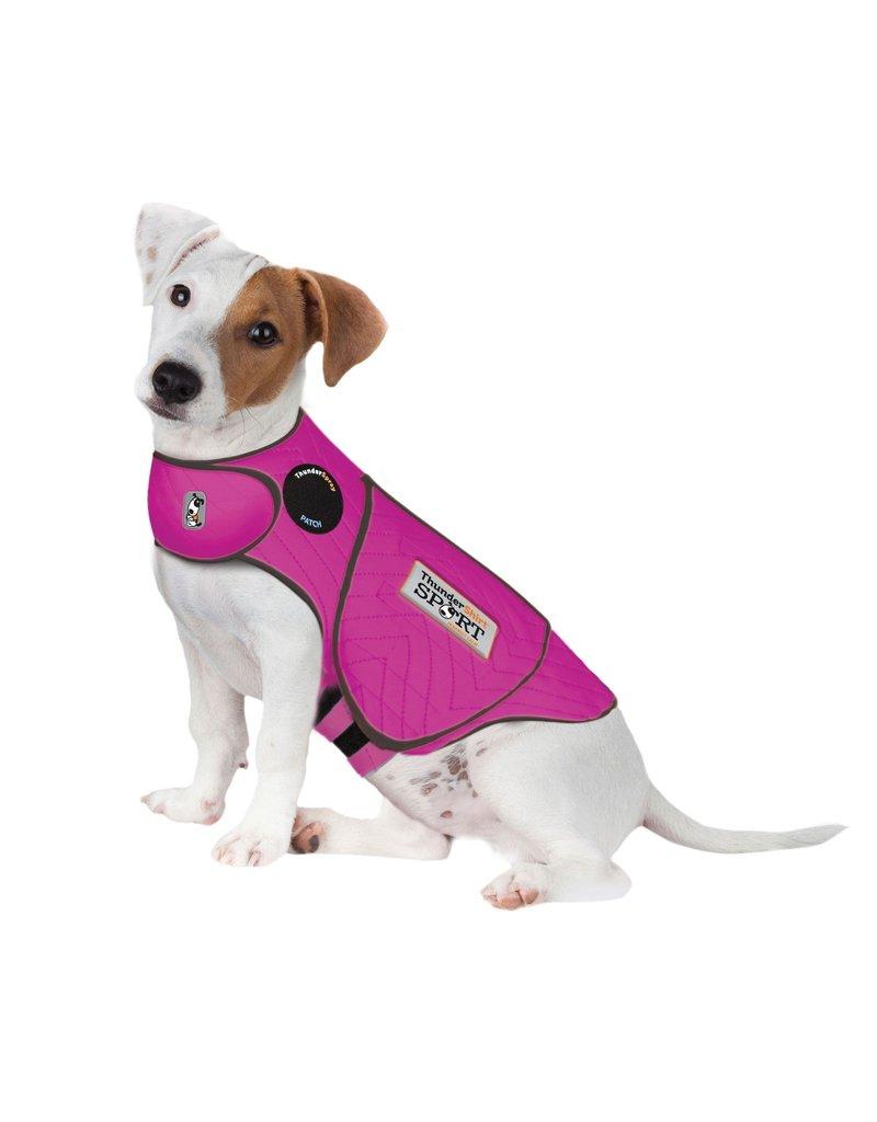 ThunderShirt Calming Dog Wrap Fuchsia Sport Small