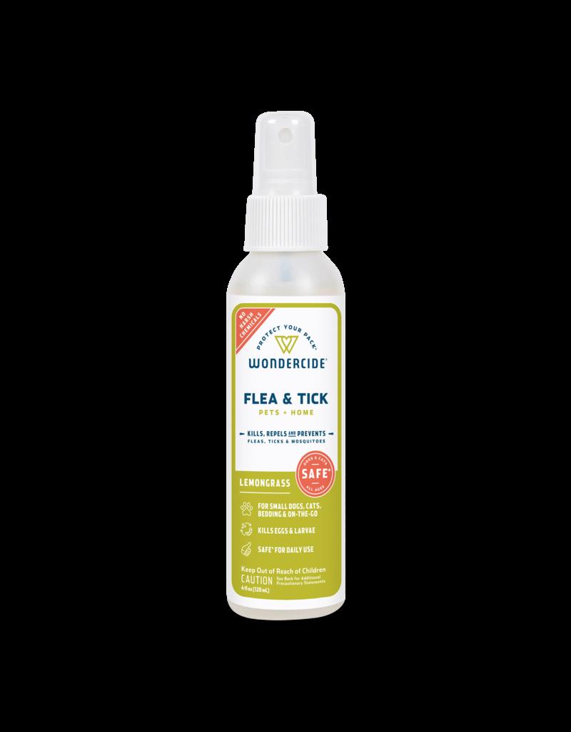 Wondercide Lemongrass Flea Tick & Mosquito Spray 4oz