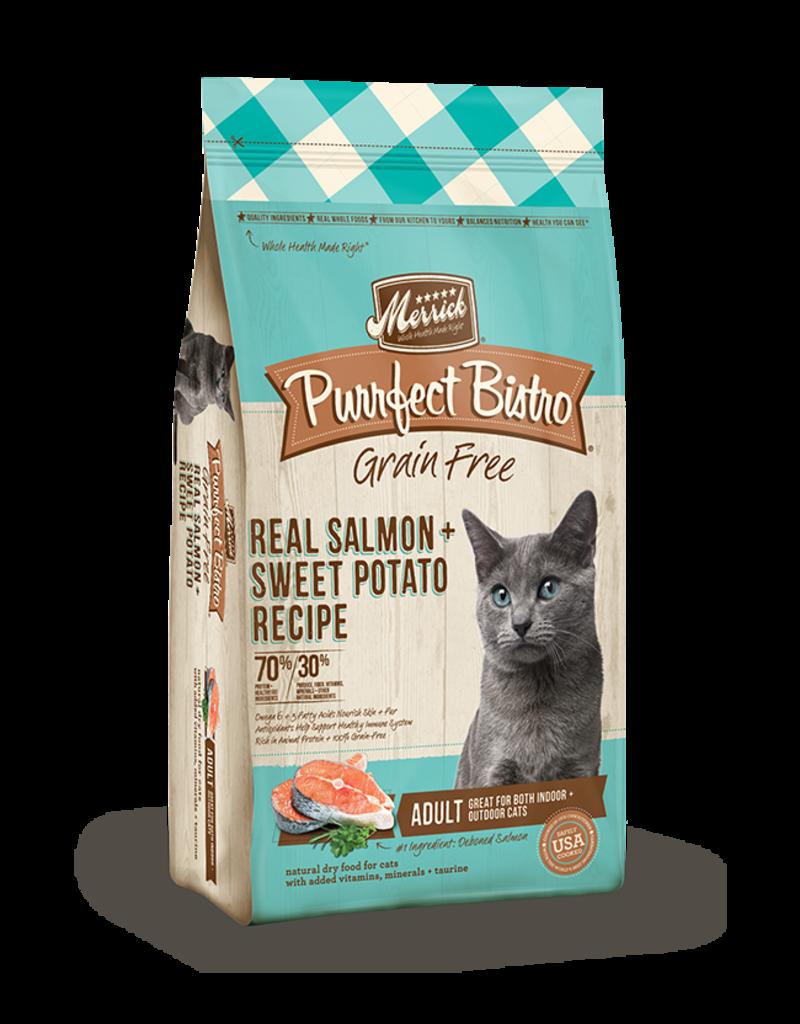 Merrick Purrfect Bistro Grain Free Adult Salmon & Sweet Potato 4lb