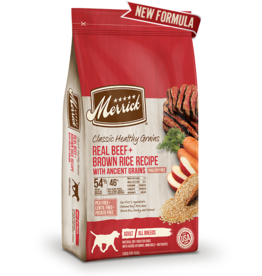 Merrick Classic Healthy Grains Beef & Brown Rice 25lb