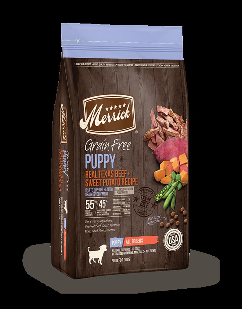 Merrick Grain Free Texas Beef & Sweet Potato Puppy 22lb