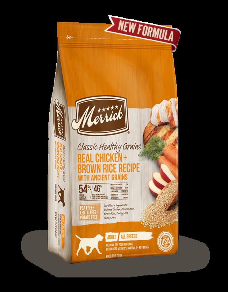 Merrick Classic Healthy Grains Chicken & Brown Rice 25lb